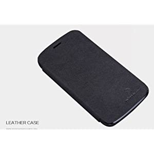 Nillkin Tree Texture Leather Flip Diary Cover Case For LG Nexus 4 E960 - Black