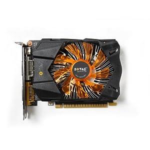 ZOTAC GeForce GTX 750 Ti 2GB Graphics Card (Black/Orange)