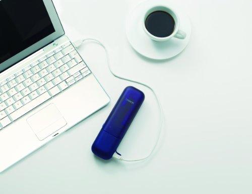オムロン 音波電動歯ブラシ メディクリーンPORTABLE ブルー HT-B601-B