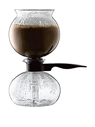 Bodum Pebo Black 8-Cup Vacuum Coffee Maker