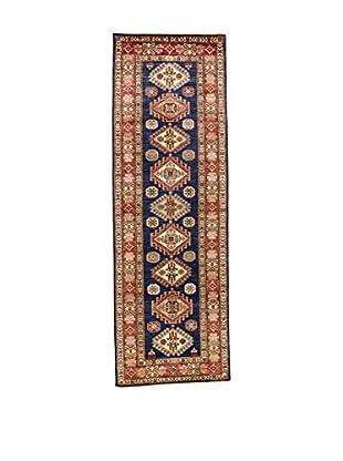 Eden Teppich Super Kazak blau/rot 83 x 250 cm