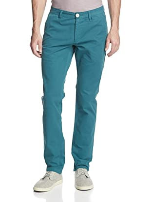 life/after/denim Men's Skinny Fit Chino Pant (Evergreen)