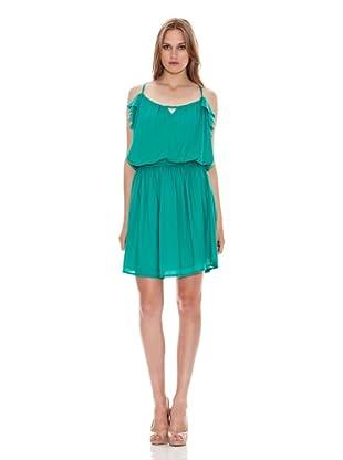 Naf Naf Vestido Ambre (Verde Tropical)
