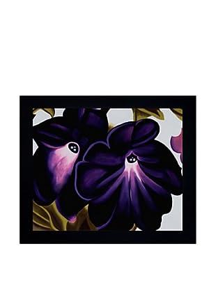 Black and Purple Petunias, Georgia O'Keeffe