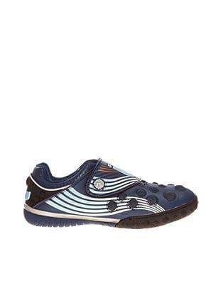 Footgol Zapatillas (Azul Marino Metalizado)