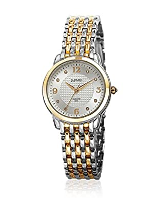 August Steiner Quarzuhr Woman AS8133TTG silberfarben/goldfarben 33 mm