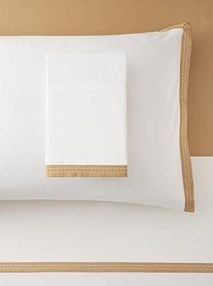 Belle Époque Shadow Sheet Set (White/Gold)