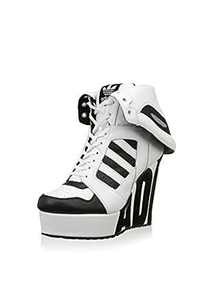 adidas Zapatillas abotinadas Js Streetball Platform Blanco / Negro EU 40 (UK 6.5)