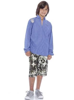 Custo Camisa Peter (Azul)