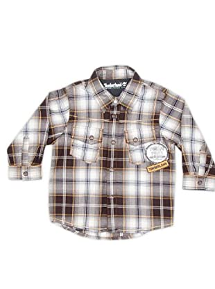 Timberland Kids Camisa Parche (Multicolor)