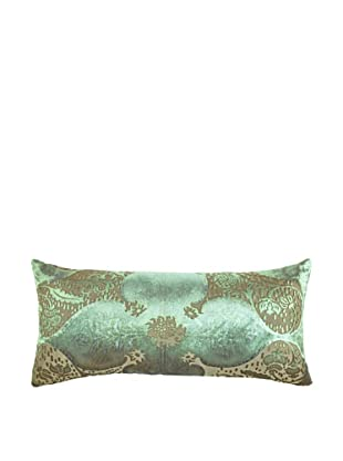 Kevin O'Brien Studio Hand-Painted Devore Velvet Persian Pillow