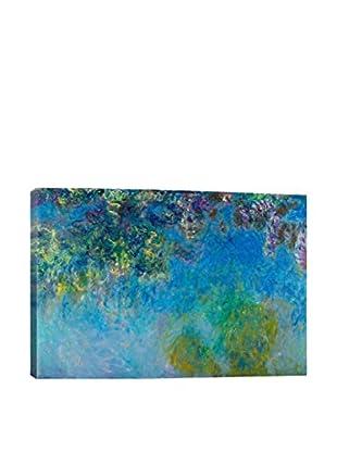 Claude Monet Gallery Wisteria Canvas Print