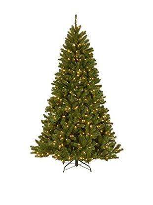 National Tree Company 7.5' North Valley Spruce Hinged Tree