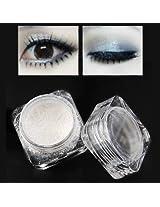 Eye Makeup Shimmer Foundation Loose Highlighting Eyeshadow Powder White