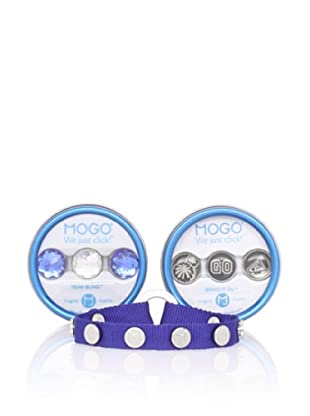 MOGO Design Blue Sports Charm & Band Bundle
