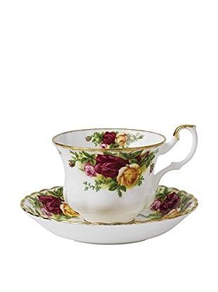 Royal Albert Old Country Roses 2-Piece Tea Cup & Saucer Set