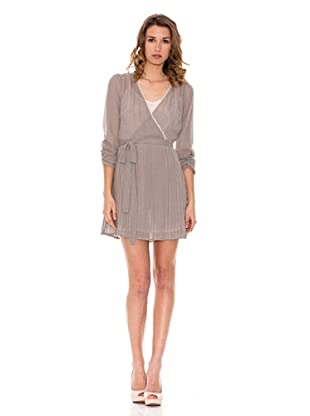 Pepe Jeans London Kleid Nat (Grau)