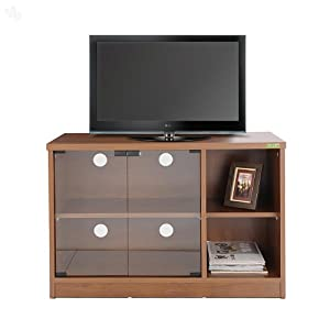 Zuari TV Cabinet Plasma Basic Natural Teak Finish
