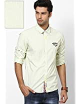 Cream Casual Shirts