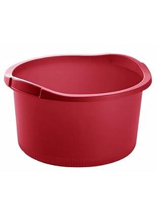 GiòStyle Bacinella Tonda 15 Lt (rosso)