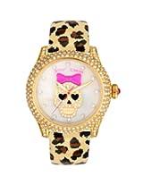 Betsey Johnson Women's BJ00019-25 Leopard/White Watch