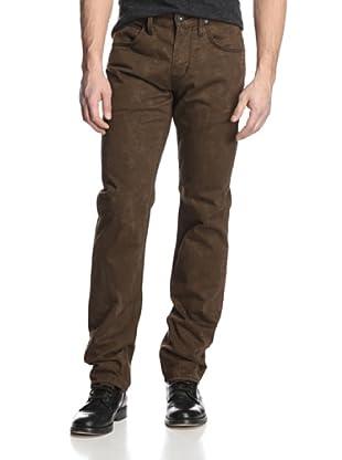 Hudson Jeans Men's Byron Five Pocket Straight Fit Jeans (Brown)