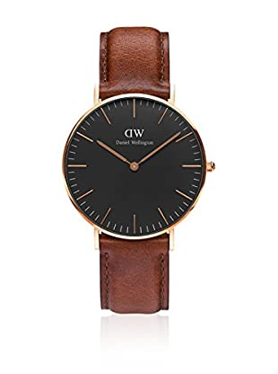 Daniel Wellington Reloj con movimiento cuarzo japonés Man Classic Bristol brown 40 mm