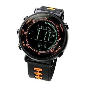 [ラドウェザー] 腕時計 スイス製センサー デジタル・コンパス 高度計/気圧計/温度計