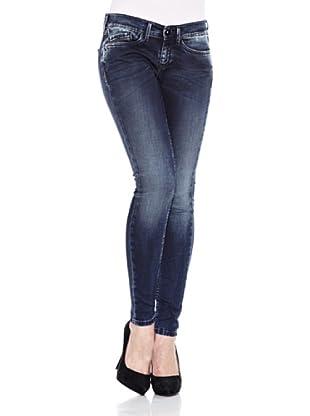 Pepe Jeans London Pantalón Vaquero Eye Candy (Azul Denim)