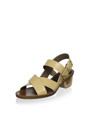 MARNI Women's Mod Heel Sandal (Cream)