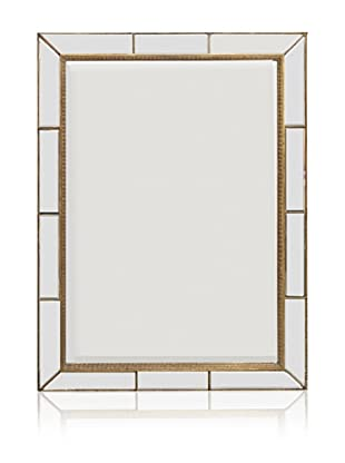 Paneled Bevel Mirror (Antique Gold)