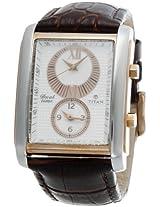 Titan Classique Analog White Dial Men's Watch - NC9309KL01J