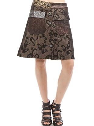 Desigual Falda (topo / gris)