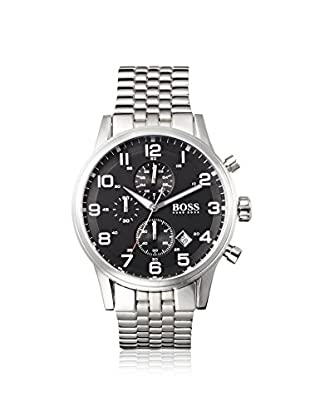 Hugo Boss Men's 1512446 Silver/Black Stainless Steel Chrono Watch