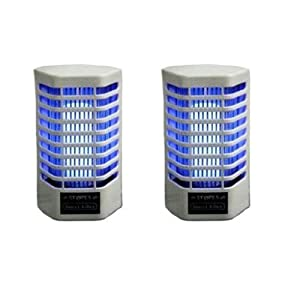 GT Electric Night Lamp Cum Fly And Mosquito Killer (2 Pieces)