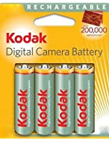Kodak 4AA 2100mah Recharable battery, multicolor