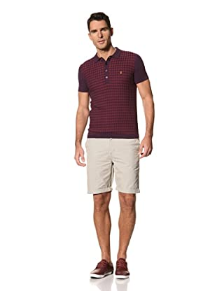 FARAH Men's The Dodger Short Sleeve (Granata)