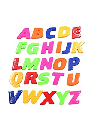 Ambiance Sticker Wandtattoo 26 tlg. Set Colorful Magnetic Alphabet Letters