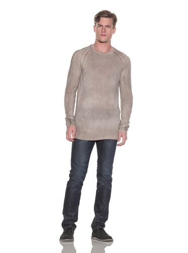 Gypsy 05 Men's Belmont Knit Crewneck Sweater (Chocolate)