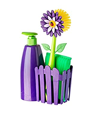 VIGAR Kit de Limpieza 4 Piezas Violeta / Verde