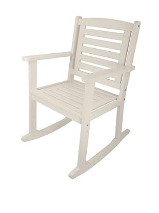 Esschert Design USA Rocking Chair, White