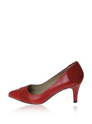 Pierre Cardin Zapatos Salón Adonia (Rojo)