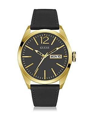 Guess Reloj con movimiento mecánico japonés Man Vertigo Gold Tone Dorado 45 mm