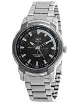 Q&Q Analog Black Dial Men's Watch - Q746J402Y