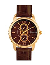 Timex E Class Analog Brown Dial Men's Watch - E301