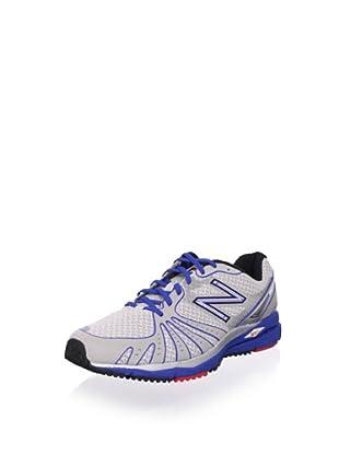 New Balance Men's MR890 Running Shoe (Silver/Blue)