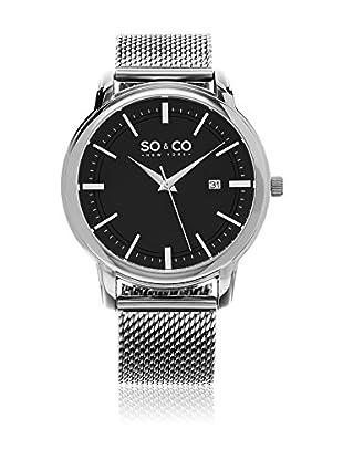 SO & CO New York Uhr mit japanischem Quarzuhrwerk Man GP15930 41 mm