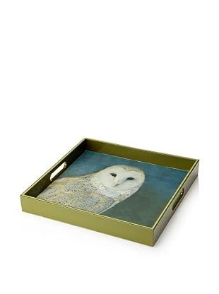 rockflowerpaper Serving Tray (Nocturne Owl)