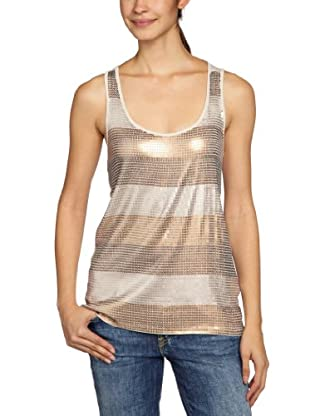 TOM TAILOR Denim Tank-Top (Beige)