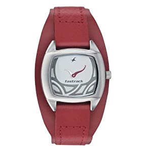 Fastrack NC6001SL01 Silver Dial Women's Watch